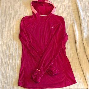 Nike running dri-fit hoodie
